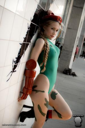Cammy White from Street Fighter II worn by precious
