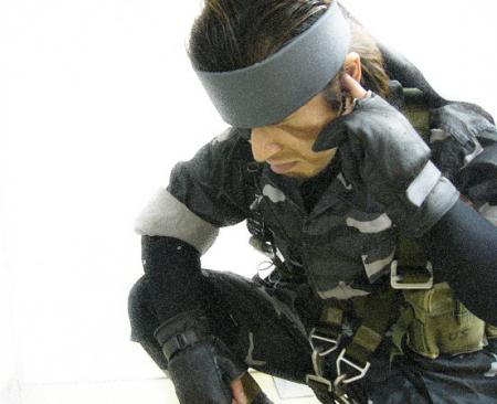 Solid Snake from Metal Gear Solid 3: Snake Eater