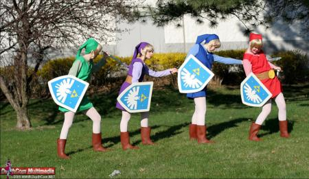 Link from Legend of Zelda: Four Swords