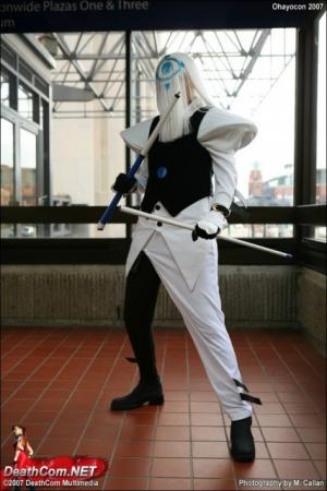 Venom from Guilty Gear XX worn by Zoroko