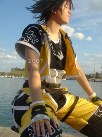 Sora from Kingdom Hearts worn by Zoroko