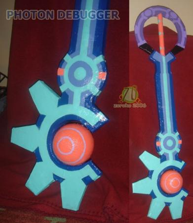Photon Debugger from Kingdom Hearts 2 worn by Zoroko