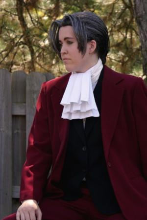 Miles Edgeworth from Phoenix Wright: Ace Attorney worn by Zoroko