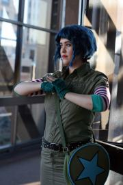 Ramona Flowers from Scott Pilgrim worn by Zoroko