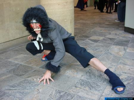 Kiba Inuzuka from Naruto (Worn by Dymatrex)