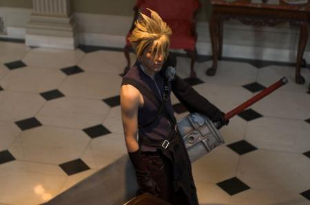 Cloud Strife from Final Fantasy VII: Advent Children worn by Dymatrex