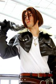 Squall Leonheart from Final Fantasy VIII worn by Dymatrex