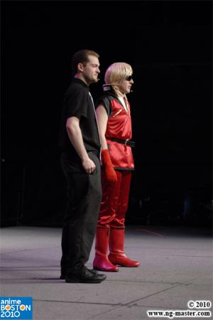 Char Aznable / Quattro Bajeena from Mobile Suit Zeta Gundam worn by Mario Bueno
