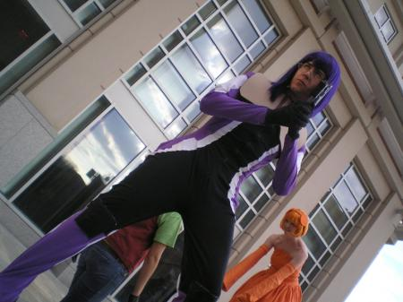 Tieria Erde from Mobile Suit Gundam 00 worn by Mario Bueno