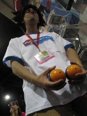 Son Goku from Dragonball worn by Mario Bueno