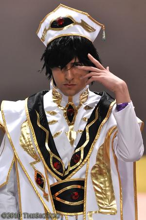 Lelouch Lamperouge from Code Geass R2 worn by Mario Bueno