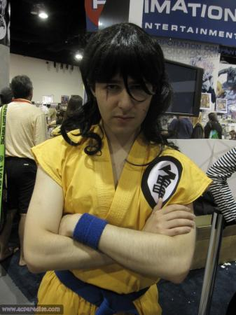 Yamcha from Dragonball Z worn by Mario Bueno