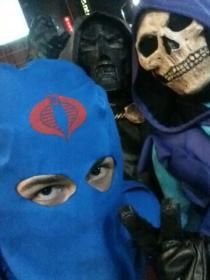 Cobra Commander from G.I. Joe worn by Mario Bueno
