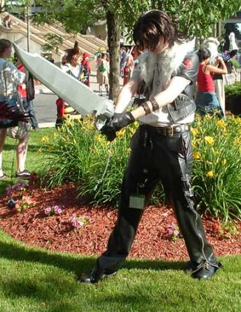 Leon from Kingdom Hearts 2