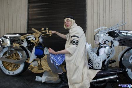 Snow Villiers from Final Fantasy XIII (Worn by The_AnarCHris)