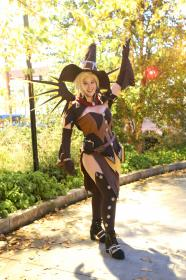 Mercy from Overwatch worn by ninjagal6