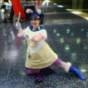 Sailor Luna from Pretty Guardian Sailor Moon