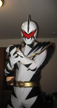 White Ranger from Mighty Morphin' Power Rangers