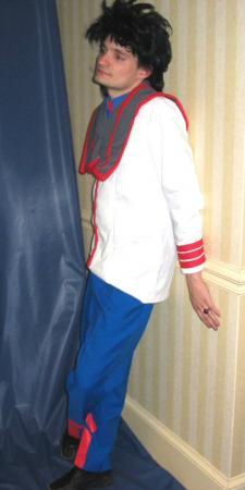 Hikaru from Macross worn by Shining Seiya