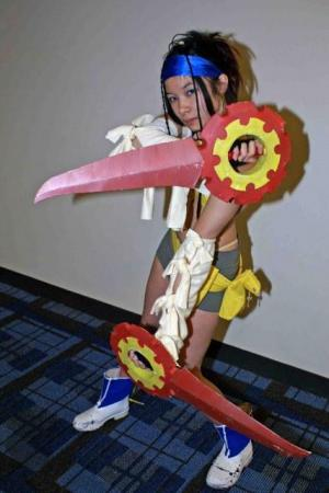 Rikku from Final Fantasy X-2 worn by Celeste Orchid