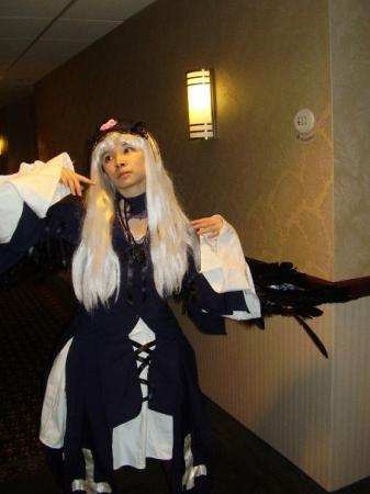 Suigintou from Rozen Maiden worn by Celeste Orchid
