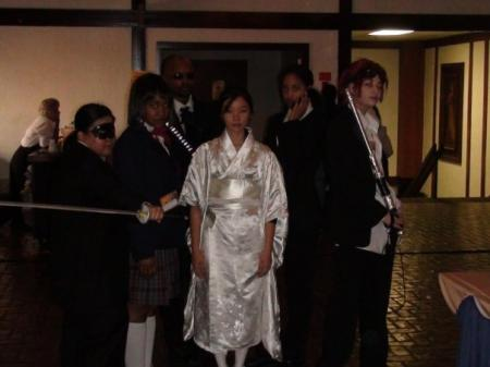 O-ren Ishii from Kill Bill worn by Celeste Orchid