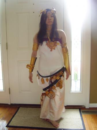 Goddess Palutena from Super Smash Bros. Brawl worn by Celeste Orchid