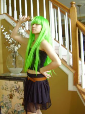 C.C. from Code Geass worn by Celeste Orchid
