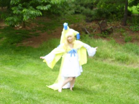 Jirachi from Pokemon worn by Celeste Orchid