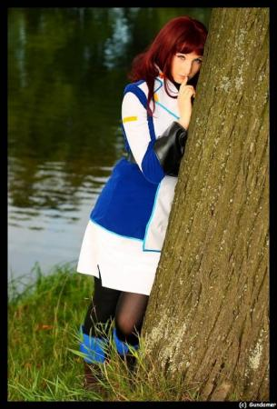 Murrue Ramius from Mobile Suit Gundam Seed worn by Naga zmeyuka