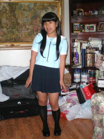 Sakaki from Azumanga Daioh worn by Janelle Ann