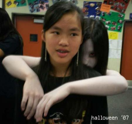Kayako from Ju-On: The Grudge worn by Janelle Ann