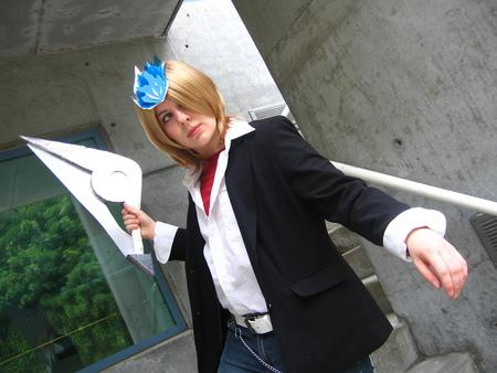 Basil from Katekyo Hitman Reborn! worn by TseUq