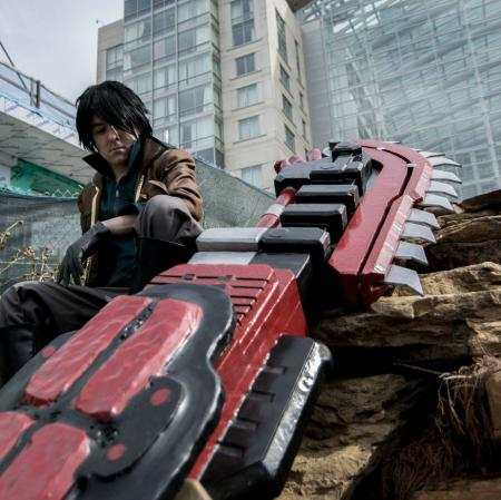 Lindow Amamiya from GOD EATER by arcane drifter