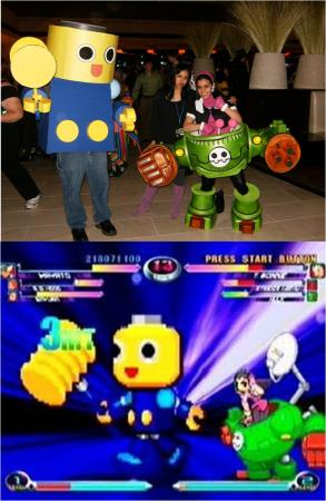 Tron Bonne from Mega Man Legends worn by RAIBot-01