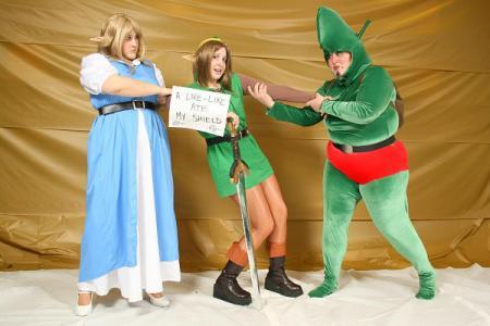 Tingle from Legend of Zelda: The Wind Waker worn by Sailor Senmurv
