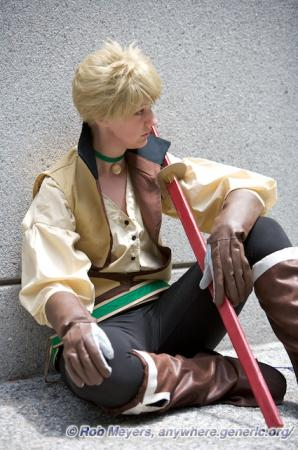 Guy Cecil from Tales of the Abyss worn by silverxplayer