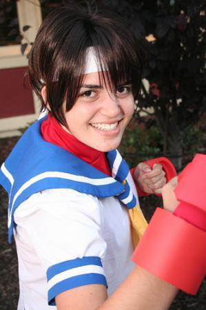 Sakura Kasugano from Street Fighter Alpha worn by Hoosteenay