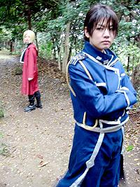 Roy Mustang from Fullmetal Alchemist worn by ryo shiozaki