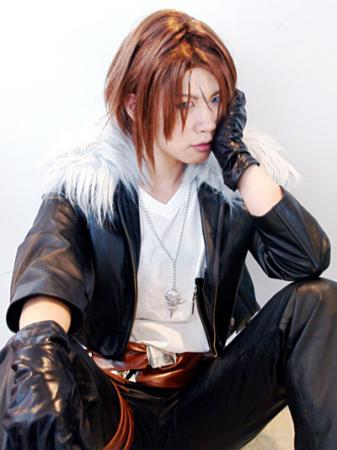 Squall Leonheart from Final Fantasy VIII worn by ryo shiozaki