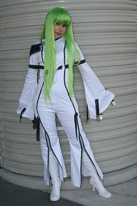 C.C. from Code Geass worn by Azu-chan
