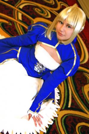 Saber from Fate/Stay Night worn by Azu-chan