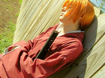 Kenshin Himura from Rurouni Kenshin worn by Kenlink Wilder