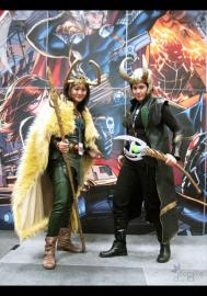 Loki from Marvel Comics worn by Dark