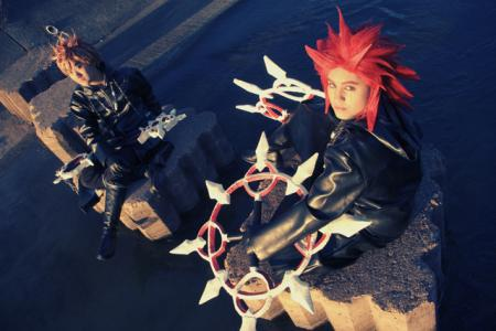 Roxas from Kingdom Hearts 2 worn by Dark