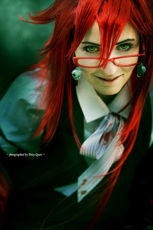 Grell Sutcliff from Black Butler