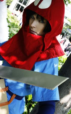 Ashitaka from Princess Mononoke worn by Dia