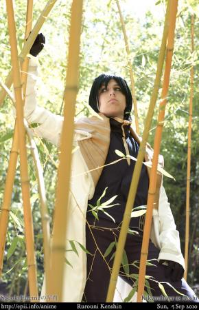 Shinomori Aoshi from Rurouni Kenshin worn by JestersLabyrinth