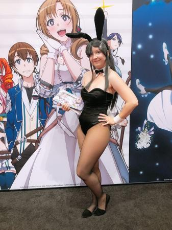Sakurajima Mai from Rascal Does Not Dream Of Bunny Girl Senpai worn by Second Star Cosplay
