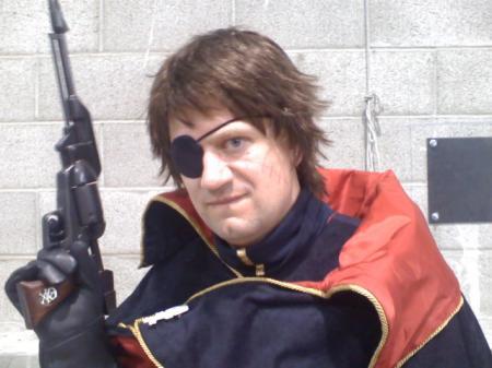 Captain Harlock from Captain Harlock